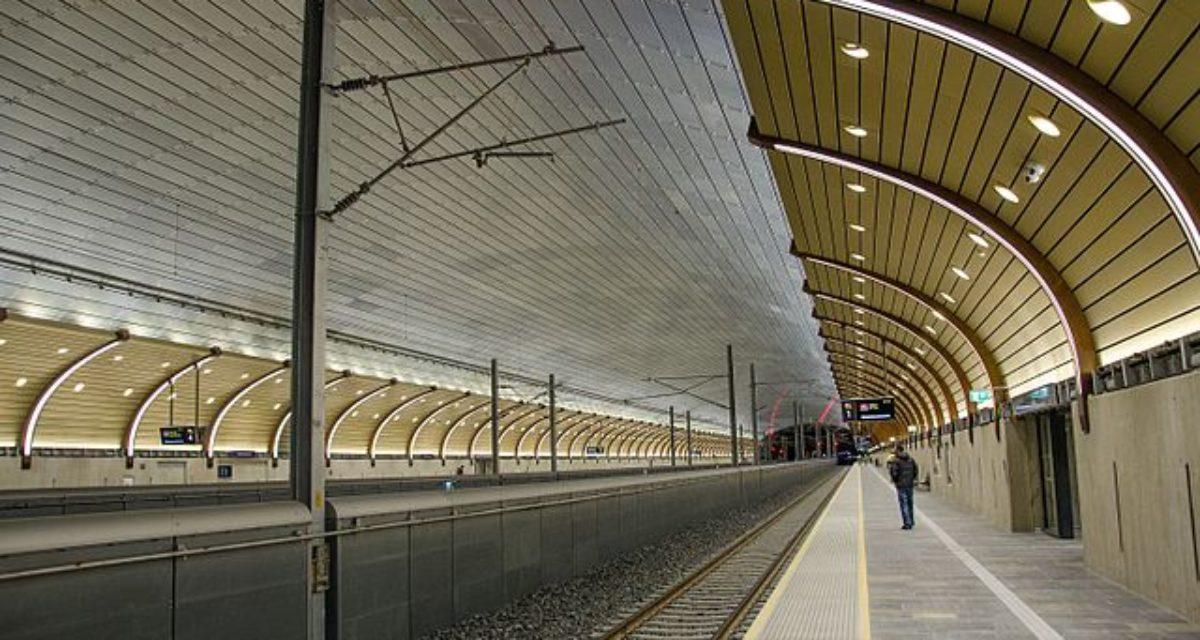 Holmestrand stasjon: Et praktbygg i sertifisert betong