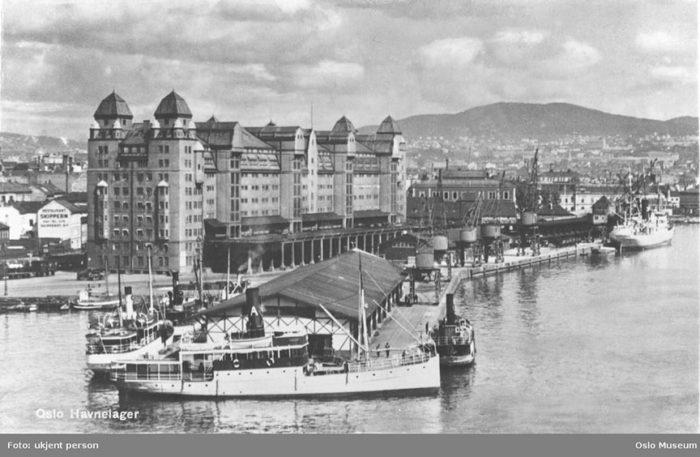 Oslo havnelager 1930