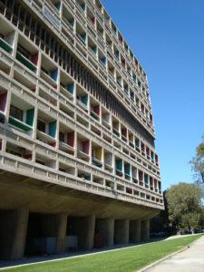 Fascinerende betongbygg i Marseille