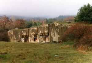 Maginotlinjen i Alsace, Frankrike