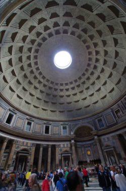 Betong ble hyppig brukt i Romerriket